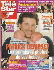 Télé Star N°1591 - 19/03/2007 - Patrick Dempsey - Tony Parker - Eric et Ramzy -