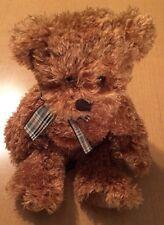 """Russ Brown Bear Plush Named Taubin 8"""""""
