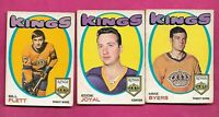1971-72 OPC LOS ANGELES KINGS  CARD LOT  (INV# C1727)