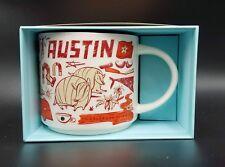 Starbucks Austin Been There Mug Music Armadillo Congress Texas Bat City New BT