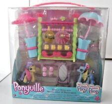 Mom petit poney pony PONYVILLE promenade avec Malicieuse Ombrella ref 62557