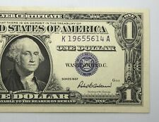 1957 Silver Certificate 1$ Dollar Note Uncirculated (P223)