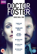 Doctor Foster The Complete Series 1 & 2 DVD BOXSET Cert 15 Suranne Jones