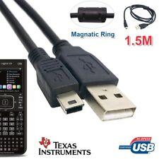 Texas Instruments Ti-Nspire CX CAS TI-89 TI-84 PLUS Calculator USB Cable Power