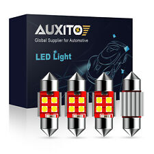 AUXITO CANBUS 4X 31MM Festoon DE3175 LED Map/Dome Interior Light Bulbs 6000K