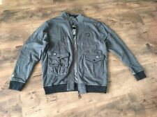 Enyce Sean Combs Mens Jacket Size Large. Grey. New With Tags.