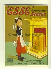 ad3324-ESSE Anthracite Stoves, Aint it Warm- Modern Advert Postcard