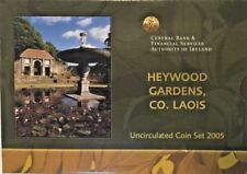 Ireland 2005 Official Euro Set 8 Coins Heywood Gardens Special Edition