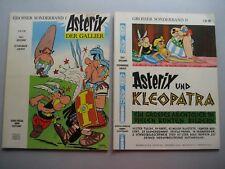 ASTERIX Nr. 1 + 2 (1969/1970 ) -  DM: 2,80 /2,50  GALLIER/KLEOPATRA -Sehr selten