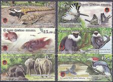 Sri Lanka New Issue 05-10-2019 (Set) Flora & Fauna