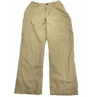 American Eagle Relaxed Straight Beige Khaki Chino Pants Men Size 40 Casual