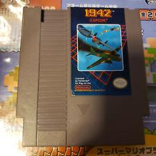 1942 Nes (Nintendo) Game.