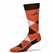For Bare Feet Cleveland Browns Argyle Socks FREE SHIPPING