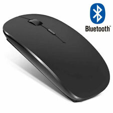 Wireless Bluetooth Mouse Mice For MacBook Air Pro iPad Laptop PC Tablet Mac Slim