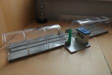 TOMY TRACKMASTER THOMAS TRACK-TWO CLEAR DOMED TUNNELS WITH CENTRAL BELL CROSSING