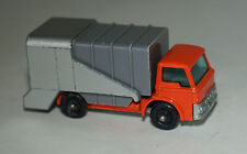 Matchbox 7c Ford Refuse Truck  Orange/Grey/Silver Without Toe Guide BPW