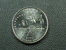 UNITED STATES    25  Cents    2002  -  D    BRILLIANT  UNCIRCULATED  ,   INDIANA