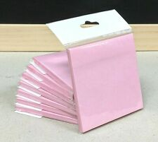 2 x KAISITE Sticky Note Pad Pink 76x76mm Pack of 50 Sheets