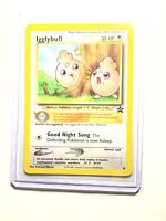 NM Pokemon IGGLYBUFF Card BLACK STAR PROMO Set #36 Wizards of the Coast League