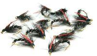Bibio Snatchers Still Water Fly Fishing River All round Nymphs Wet Trout Flies