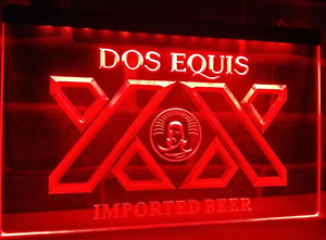 Dos Equis LED Sign Sports Bar Beer Cave