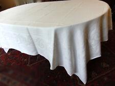 Nappe Damas XIXe pour table grande largeur - 2m45 x 2m00