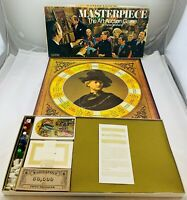 1970 Masterpiece Game by Parker Brothers Complete in Great Condition FREE SHIP