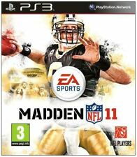 PS3 - Madden NFL 11 (2011) **New & Sealed** Official UK Stock