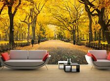 Central Park in New York City Wallpaper Wall Mural DECOR Paper Poster Free Paste