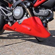 Bugspoiler Ducati Monster 696 / 796 V-Twin Ölwanne Spoiler  Verkleidung GFK weiß