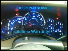 REPAIR SERVICE 03-06 GM Cadillac Escalade Instrument Gauge Cluster w LED 04 05