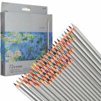 72 Color Set Fine Art Drawing Non-toxic Oil Base Pencils Kit For Artist Sketch