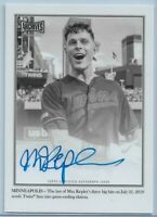 2020 Topps Archives Snapshots Max Kepler On-Card Walkoff Wire Auto #'d 04/50