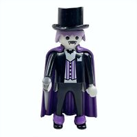 Playmobil Halloween Dracula Vampire Special Figure w/ Cap Top Hat Cane 4506