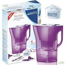 BRITA Navelia Passione Violetto 2,3 L Filtro Per Brocca Dell'acqua + 1 Maxtra