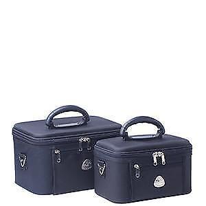 Cobb & Co Serengeti Beauty Case 2 Piece Set - Navy  All Handbags