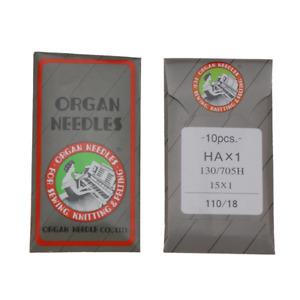 Organ Sewing Machine Needles - 10 Pack AU Stock Universal Needle Cotton Tool
