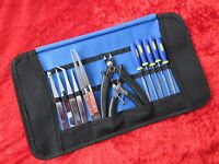 Craft Model Hobby Tools Kit For Airfix Warhammer Modellers Tamiya & Roll Up Case