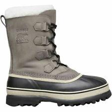 NIB Women's Sorel Caribou Shale Stone Waterproof Lace Up Boots 8 US / 39 EUR