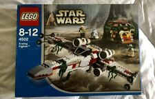 Lego Star Wars 4502 Rare Dagobah X-Wing StarFighter 100% Complete BOXED