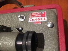 PROJECTEUR 8 MM CINEGEL ROYAL 300 , POUR FILM 8 MM , A REVOIR