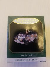 "1997 ""On The Road "" Hallmark Ornament (Nib) Miniature 5Th In Series"