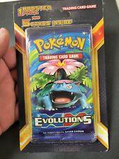 Pokemon Evolutions Booster Venusaur Art + 5 Cards Unopened Blister! Charizard?!