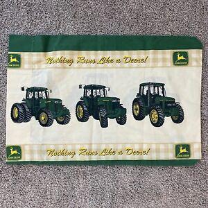 John Deere STANDARD Pillow Case Construction Farming Tractor