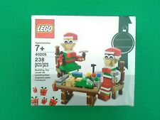 LEGO EXCLUSIVE Christmas LITTLE ELF HELPERS 40205 Seasonal Gift New SEALED JL-20