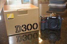 Nikon D300 DSLR CAMERA 12.3 MP, Near Mint, 1,711 Shutter Releases - 30 MP CF