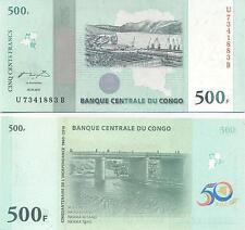A SAISIR     BILLET   500  FRANCS  2010    CONGO     NEUF    !!!!   UNC
