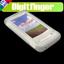 SAMSUNG I900 OMNIA CASE WHITE IN SOFT SILICONE