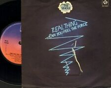 """THE REAL THING can you feel the force 7N 46147 uk pye 1978 7"""" PS EX/EX wol wos"""