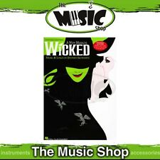New Wicked the Musical Vocal & Piano Selections Music Book